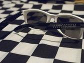 Llama Tsunami Checkered Sunglasses photo