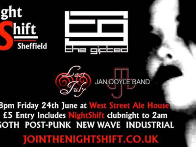 NightShift - The Gifted, Last July & Jan Doyle Band - 24th June 2016 main photo
