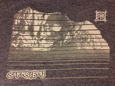 DARK BLUEISH/GREY Skull Mountain Shirt main photo