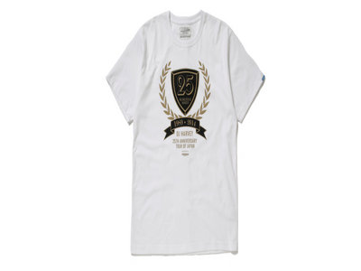 Dj Harvey-Neighborhood 25th anniversary japan tour T-Shirt (white) main photo