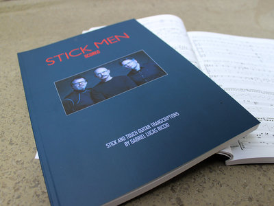 Stick Men SCORED Book with Play-Along Tracks main photo