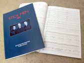 Stick Men SCORED Book with Play-Along Tracks photo
