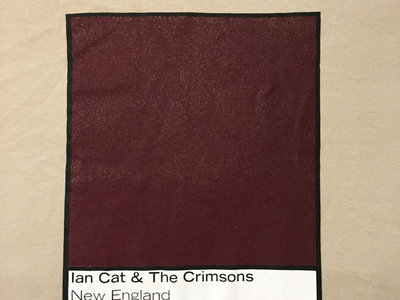 Ian Cat & The Crimsons Swatch T-Shirt main photo