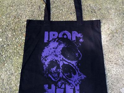 Skull Tote Bag Purple main photo
