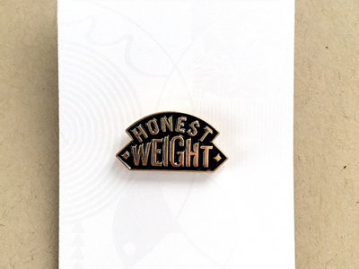 Mike Adams At His Honest Weight enamel pin main photo