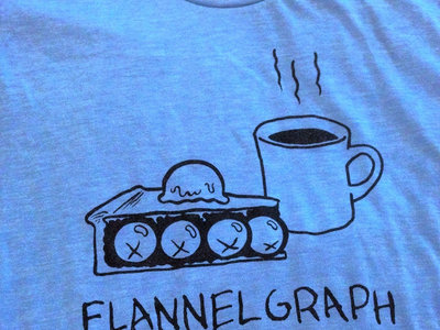 Flannelgraph Records Pie & Coffee Shirt main photo