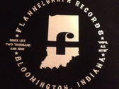 Flannelgraph Records shirt photo
