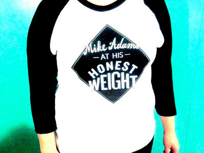 Mike Adams At His Honest Weight baseball shirt main photo
