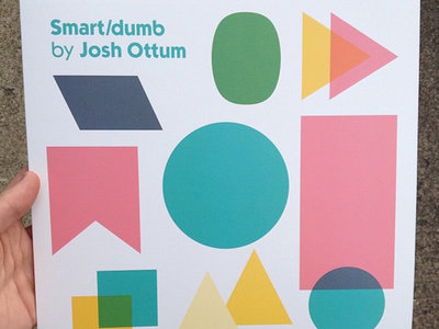 "Distro Item / Josh Ottum ""Smart/Dumb"" clear vinyl LP main photo"