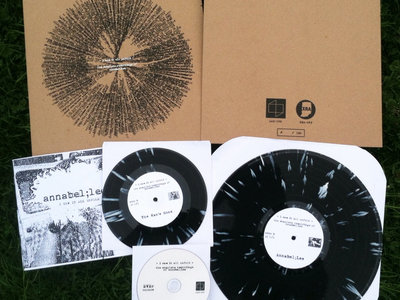 "Distro Item / Annabel;Lee ""I Saw It All Unfold"" LP + 7"" + DVD + zine + download main photo"