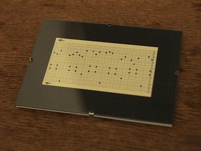 "Music Box Punch Card Fragment ""Dinan"" III main photo"