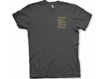 Robocobra Quartet Graphite Barcode T-Shirt main photo