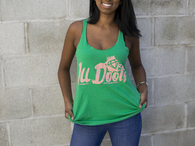 "Green ""I.L.L. Logo"" Racerback main photo"