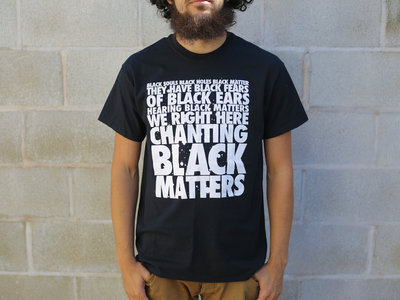 "Black ""Black Matters"" T-shirt main photo"