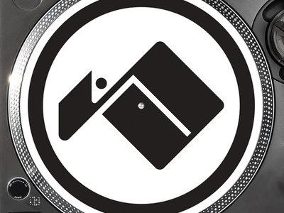 Osiris Music - Slipmats - Pair - (Black Logo On White) main photo