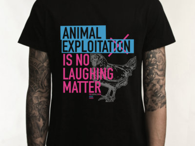 """No Laughing Matter"" T-shirt main photo"