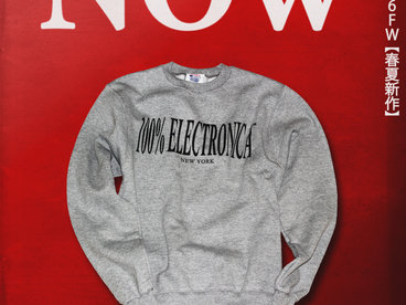 100% Electronica x Champion Sweatshirt main photo