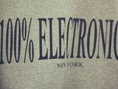 100% Electronica x Champion Sweatshirt photo