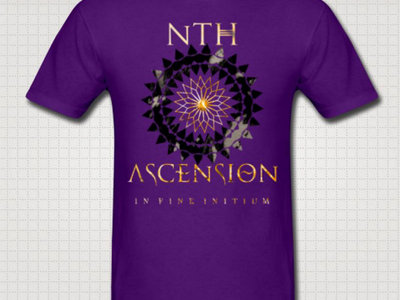 Purple Unisex: In Fine Initium T main photo