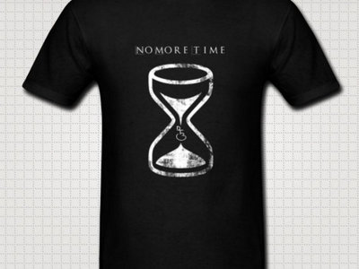 Unisex: No More Time - Hour Glass T main photo