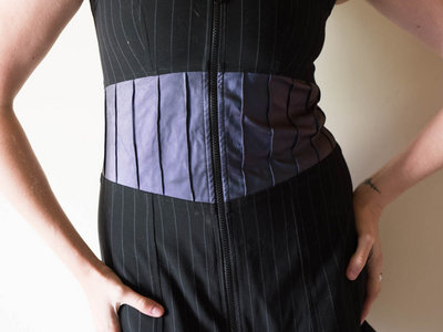 Pinstripe dress main photo
