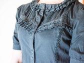 Black gothic lolita shirt photo