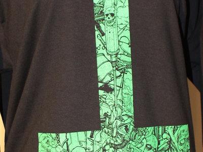 NEON CROSS COLLAGE T-Shirt main photo
