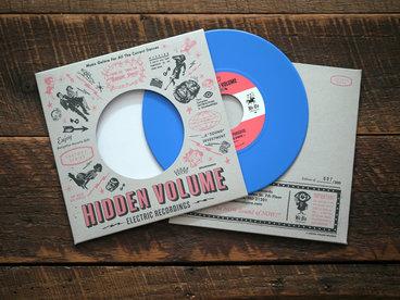 "7"" Limited Edition CYAN Vinyl, 150 copies main photo"