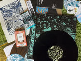 """Inaniel / Sorry Sorrow Swims"" bundle (2 x12"" + 2 x 7""s + 2 cassettes + a silkscreen of a concert poster....) photo"