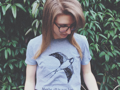 Swallow T-Shirt (Light Heather Grey) main photo