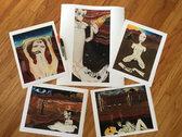 """Upsie Daisies"" 11""x14"" Standard Giclée Print (Unframed) photo"