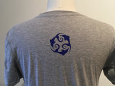 Allison Crowe and Band + Rubenesque Records logo t-shirts photo