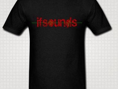 Black Unisex: ifsounds Logo Shirt main photo