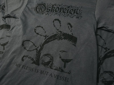 """My Flesh Is But a Vessel"" t-shirt main photo"
