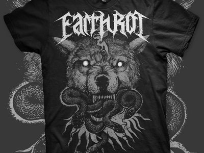 Wolf design by Robert Borbas (Grindesign/Rooklet Ink) 1 ONLY 2XL main photo