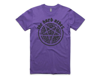 The Hard Aches - Pizzagram Tee (Purple) main photo