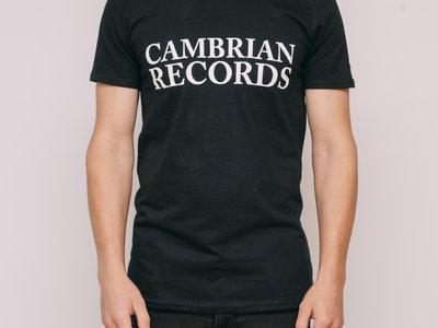 Cambrian Records T-shirt - Black main photo