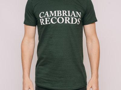 Cambrian Records T-shirt - Green main photo