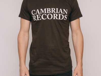 Cambrian Records T-shirt - Brown main photo