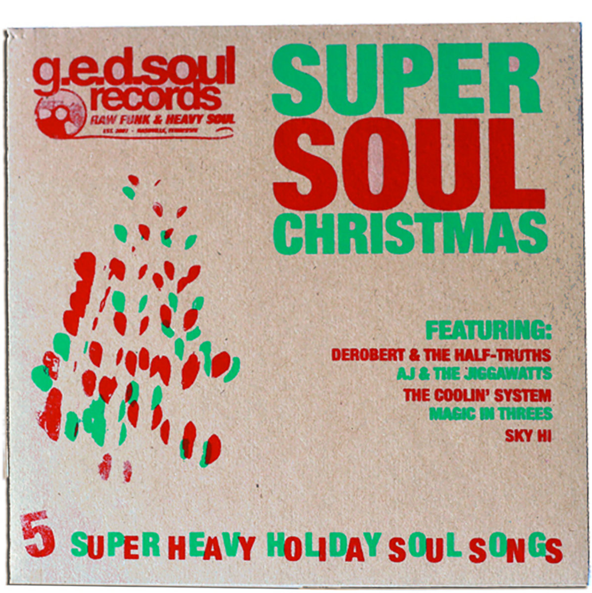 G.E.D. Soul Records Super Soul Christmas | G.E.D. Soul Records