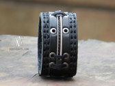 Custom AA Leather Bracelet (#CLS1610) w/ FREE Album Bundle photo