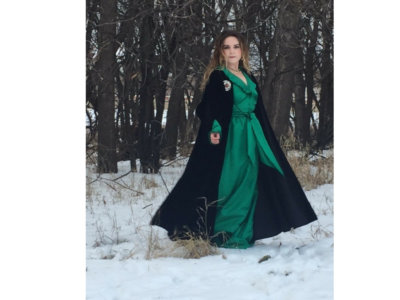 Jillian LaDage Autographed Enchanted Celtic Winter Photo main photo