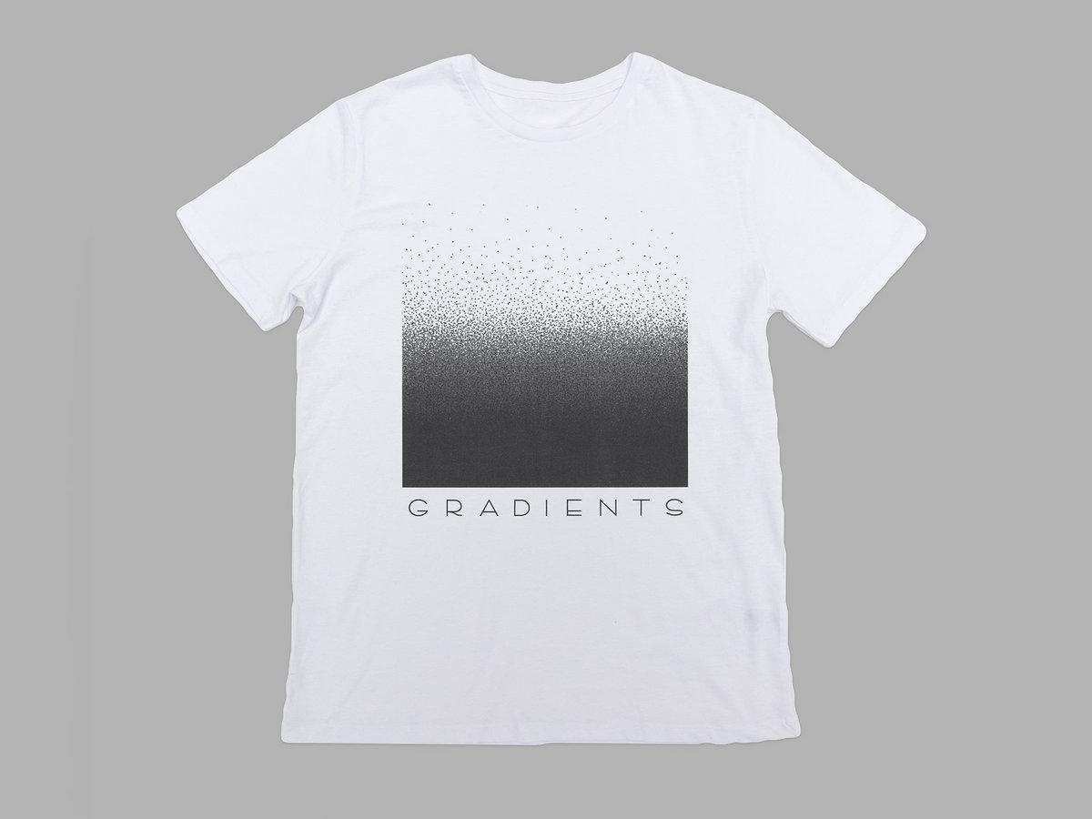 T-shirt design handmade - Limited Edition Handmade T Shirts Gradients Design In High Quality Dtg Digital Print On White 100 Cotton Heavyweight Gildan Premium T Shirts
