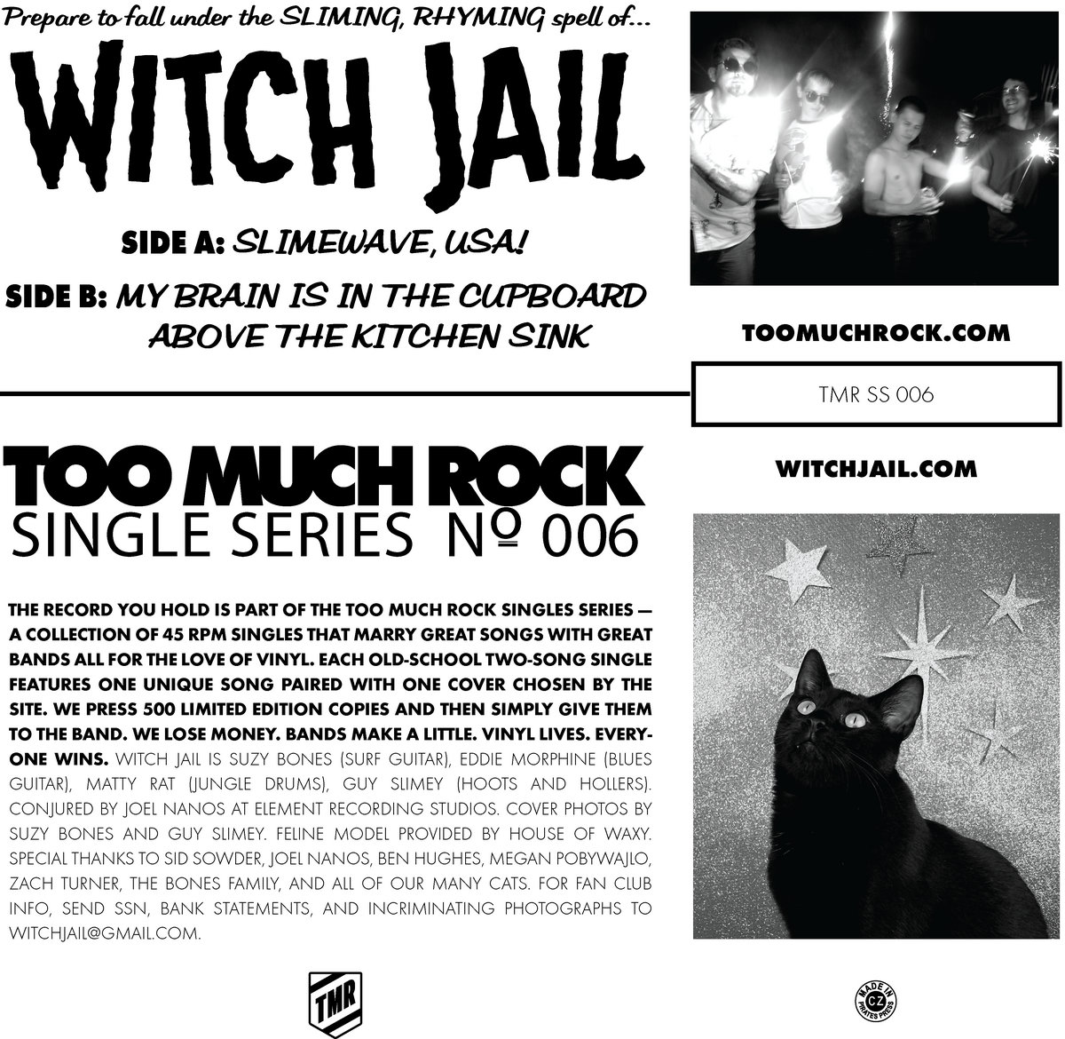 Slimewave USA! Witch Jail's Brick Invasion