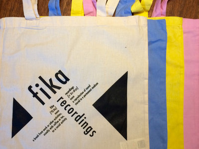 Fika Recordings definition tote main photo