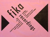 Fika Recordings definition tote photo
