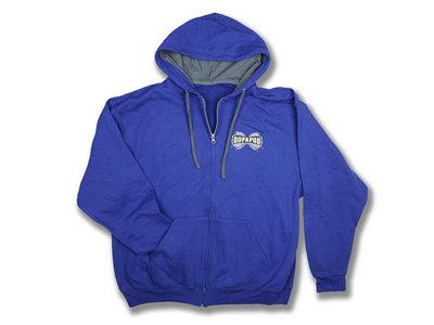 Blue Zipper Hoodie main photo