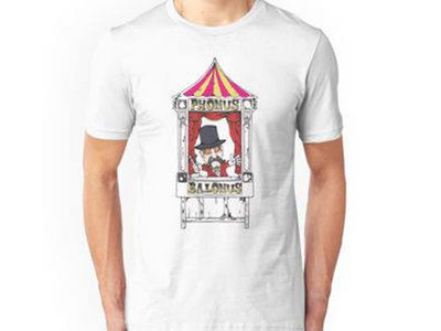 Mens Phonus Balonus Ringmaster T-Shirt - White main photo