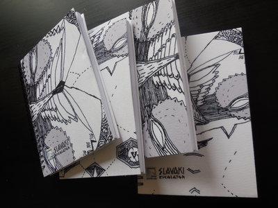 A5 Spiral Notebook feat. Slavaki - Escalator EP artwork by Sam Crew main photo