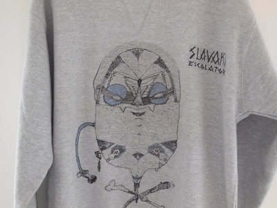 Sweatshirt feat. Slavaki - Escalator EP artwork by Sam Crew main photo